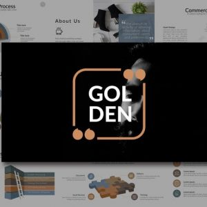 Golden Powerpoint