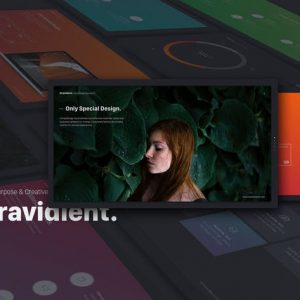 Gravidient Powerpoint Simply Theme