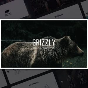 Grizzly PowerPoint Template