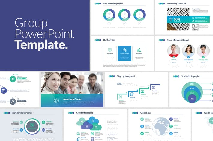 Group PowerPoint Template