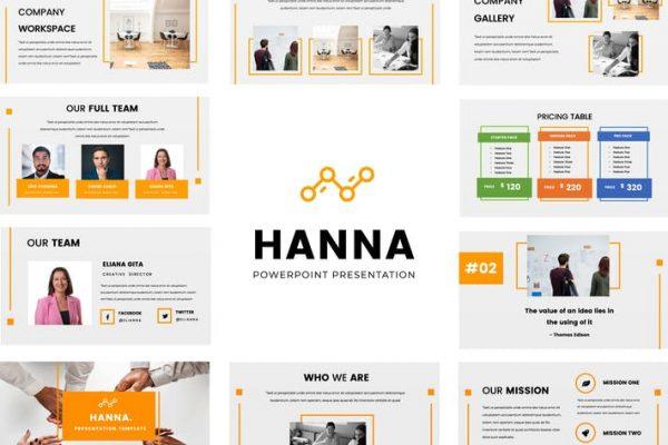 Hanna Powerpoint Presentation