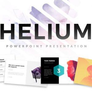 Helium Minimal Powerpoint Template