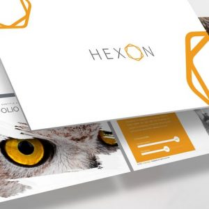 Hexon Powerpoint Template