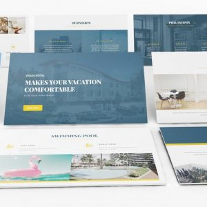 Hotel Vegas Powerpoint Template