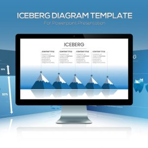 Iceberg Diagram Powerpoint Template