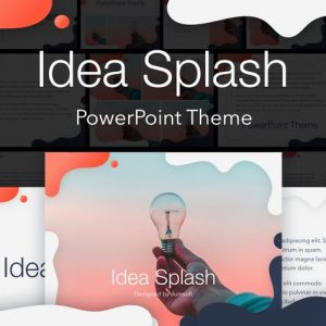 Idea Splash PowerPoint Template