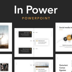 In Power PowerPoint Template