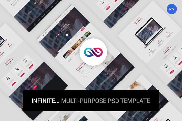 Infinite - Multi-Purpose PSD Template