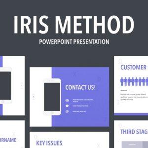 Iris Method PowerPoint Template