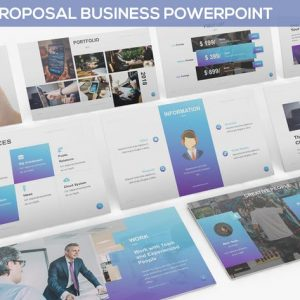 JOIN - Proposal Business Powerpoint Template