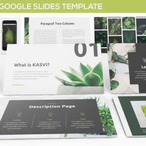 KASVI - Nature Google Slides Template