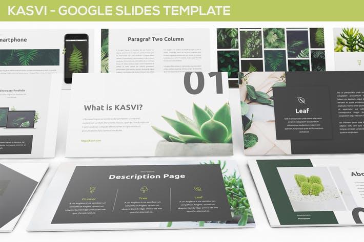 KASVI - Nature Google Slides Template