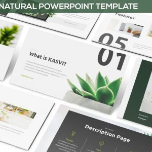 KASVI - Nature Powerpoint Template