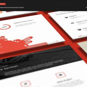 Kite Simple Powerpoint Template