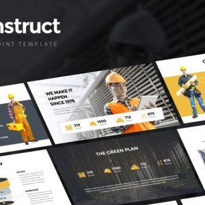 Konstruct - Powerpoint Template