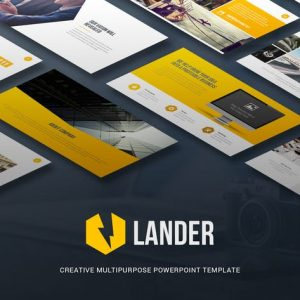 Lander - Creative Powerpoint Template