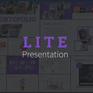 LITE - Keynote Presentation Template