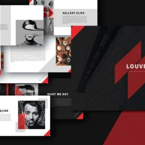 LOUV Powerpoint Template