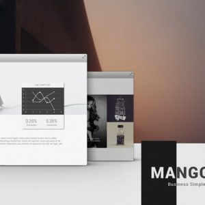 Mango Simply Presentation Template