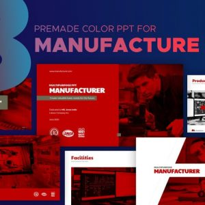 Manufacturer Powerpoint Template