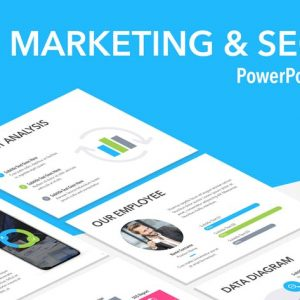 Marketing & SEO PowerPoint Template