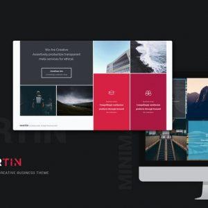 Martin Minimal & Creative Template