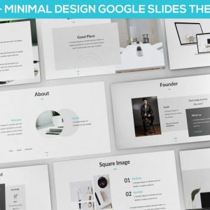 Matua - Minimal Design Google Slides Presentation
