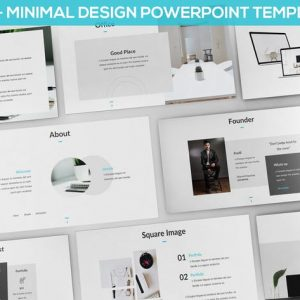 Matua - Minimal Design Powerpoint Presentation