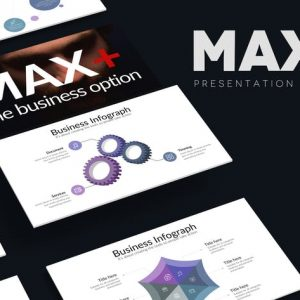 MAXPLUS Powerpoint Template