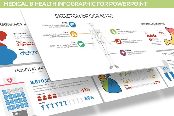 Medical & Health Infographic for Powerpoint