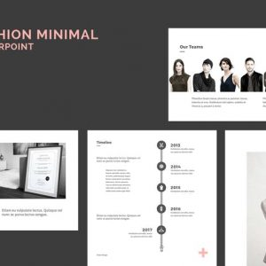 Minimal Fashion PowerPoint