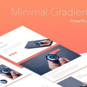 Minimal Gradient PowerPoint Template