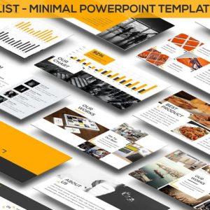Minimalist - Minimal Powerpoint Template