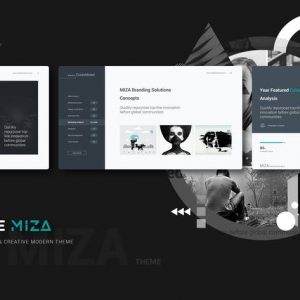 Miza Clean & Business Template