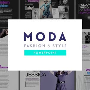 Moda - Fashion & Style Powerpoint Template