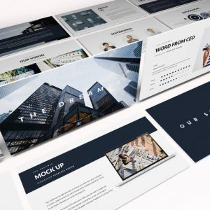 Modern Construction Powerpoint Template