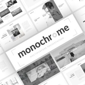 Monochrome Multipurpose Presentation