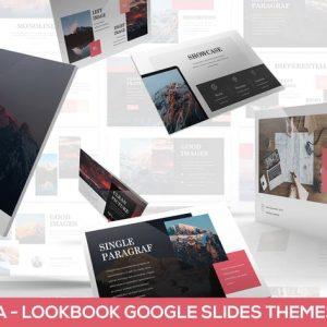 Monola - Minimal Lookbook Google Slides