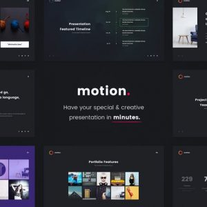 MOTION - Creative Powerpoint Template