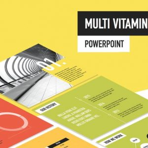Multi Vitamin PowerPoint Template