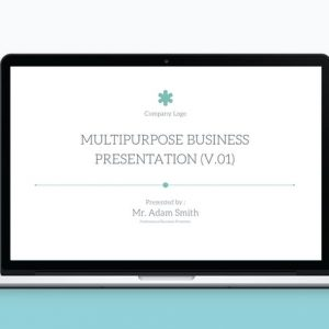Multipurpose PowerPoint Template V.12
