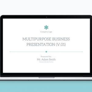 Multipurpose PowerPoint Template V.12