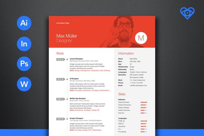 Neue Swiss Resume CV