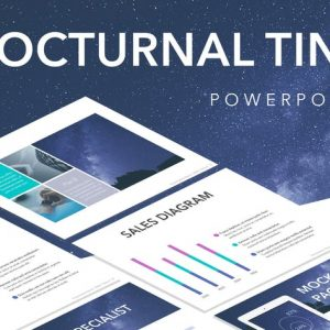 Nocturnal Tint PowerPoint Template
