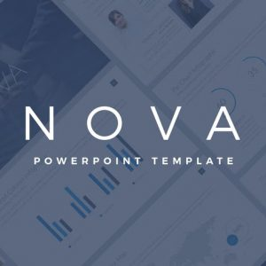 Nova Business PowerPoint Template Pitch Deck