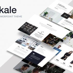 Oskale - Minimal Theme Powerpoint