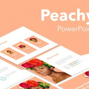 Peachy PowerPoint Template