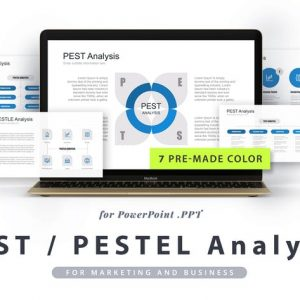 PEST / PESTEL / PESTLE Analysis PowerPoint