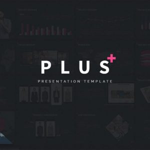 PLUS - Powerpoint Presentation Template
