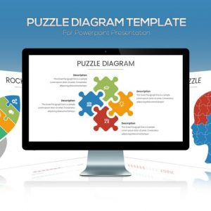 Puzzle Diagram Powerpoint